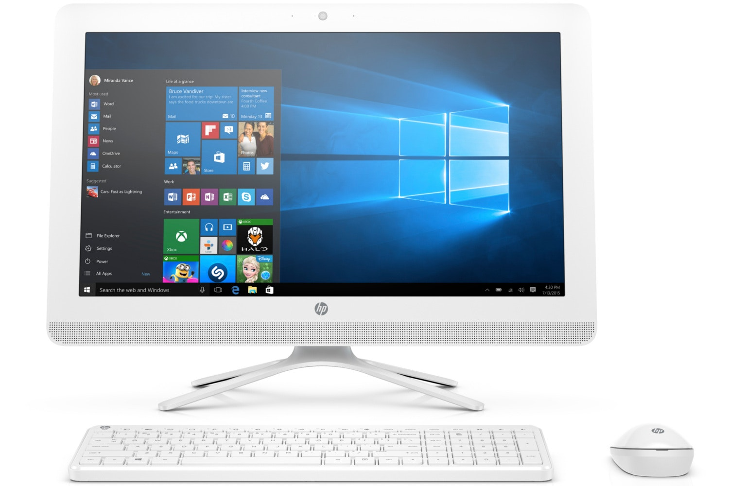 "HP 22"" All-In-One Pavilion 