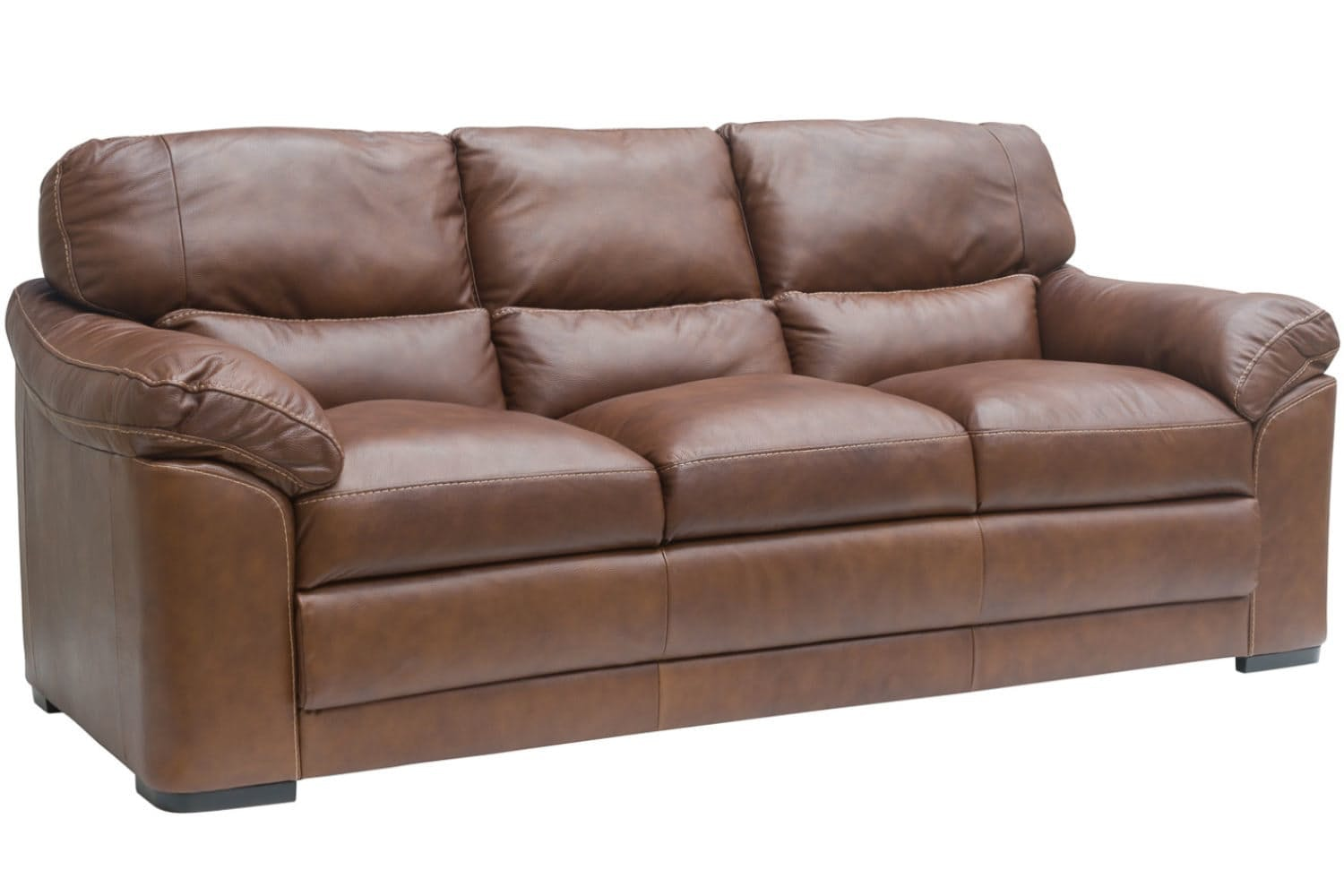 Senna Leather 3 Seater Sofa