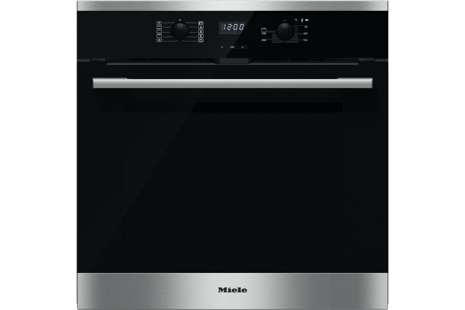 H 2561 BP  Oven   with pyrolytic cleaning for easy maintenance