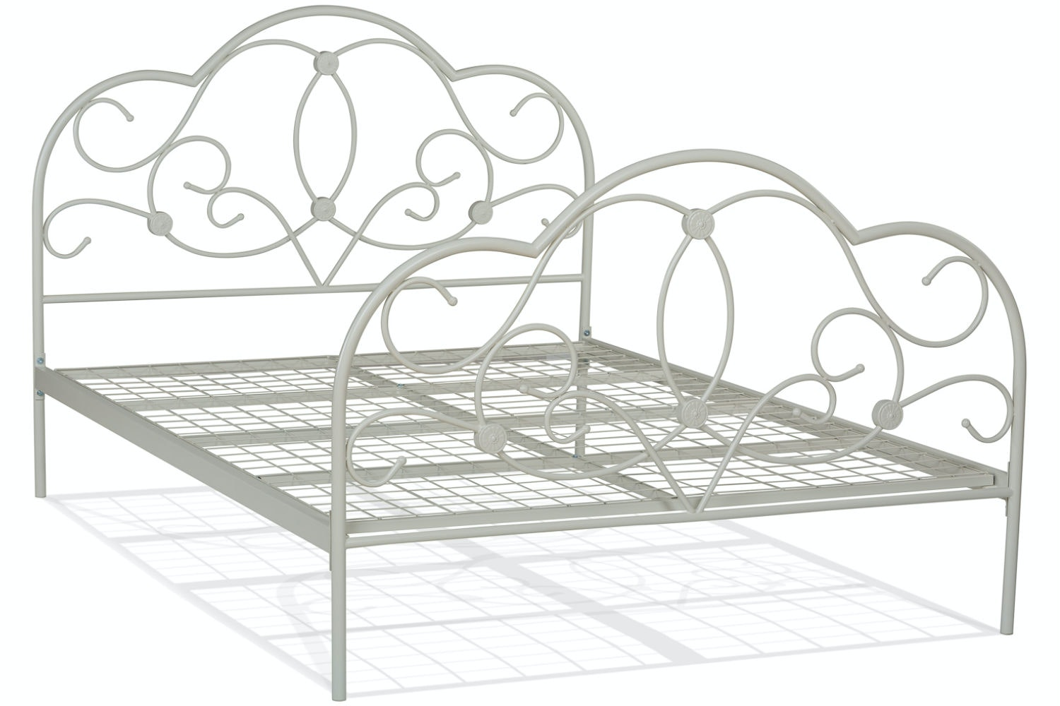 Georgina Double Bed Frame | Cream