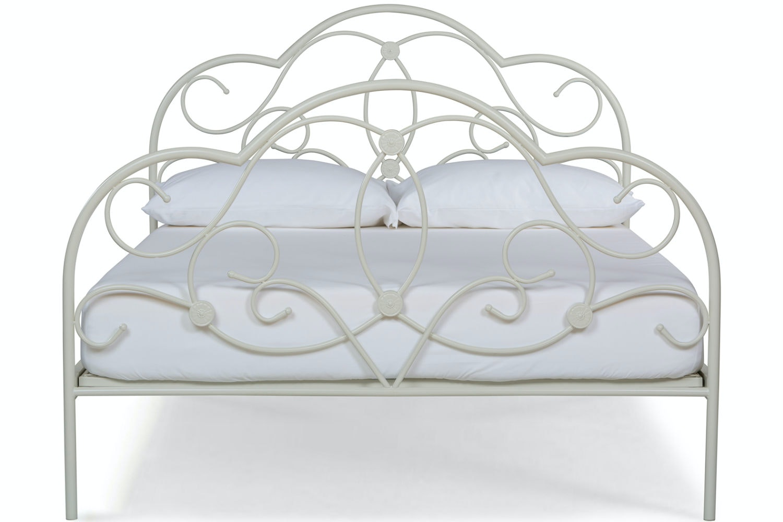 Georgina Double Bed Frame | Cream