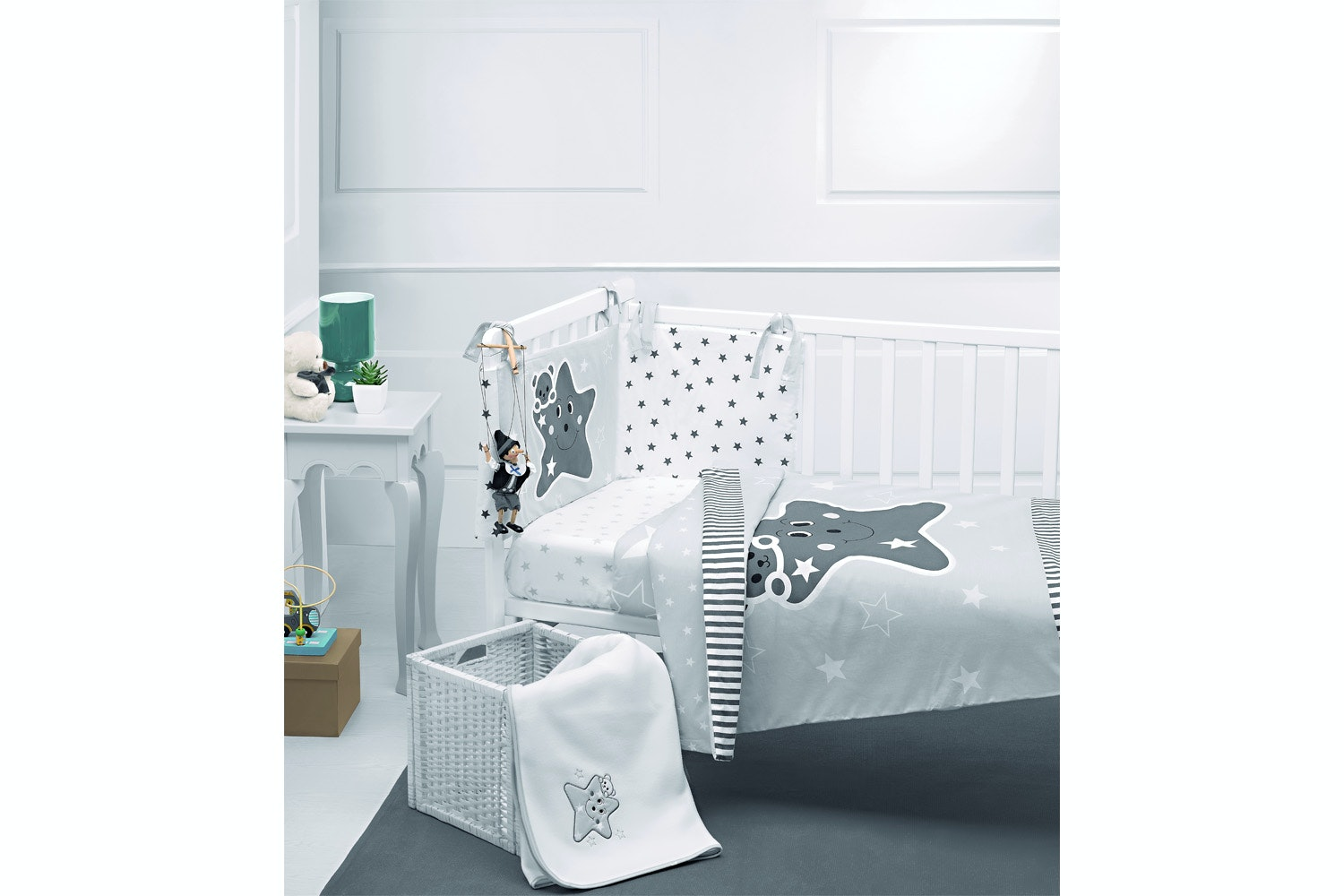 Babysleep 5 PC Bed Set | Star