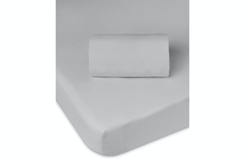 Babysleep Moses Basket Fitted Sheet | Grey