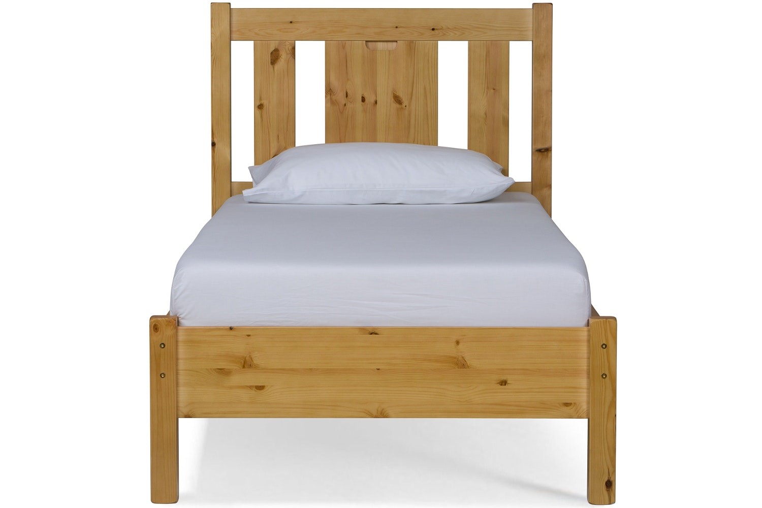 Emily Single Bed Frame | 3ft | Natural