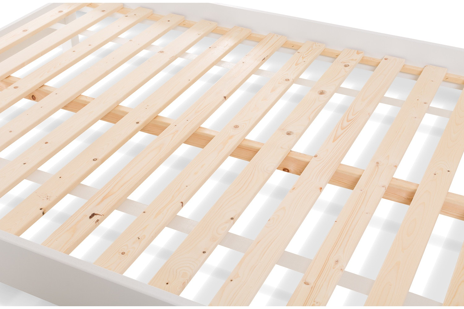 Emily Small Double Bed Frame   4ft   White