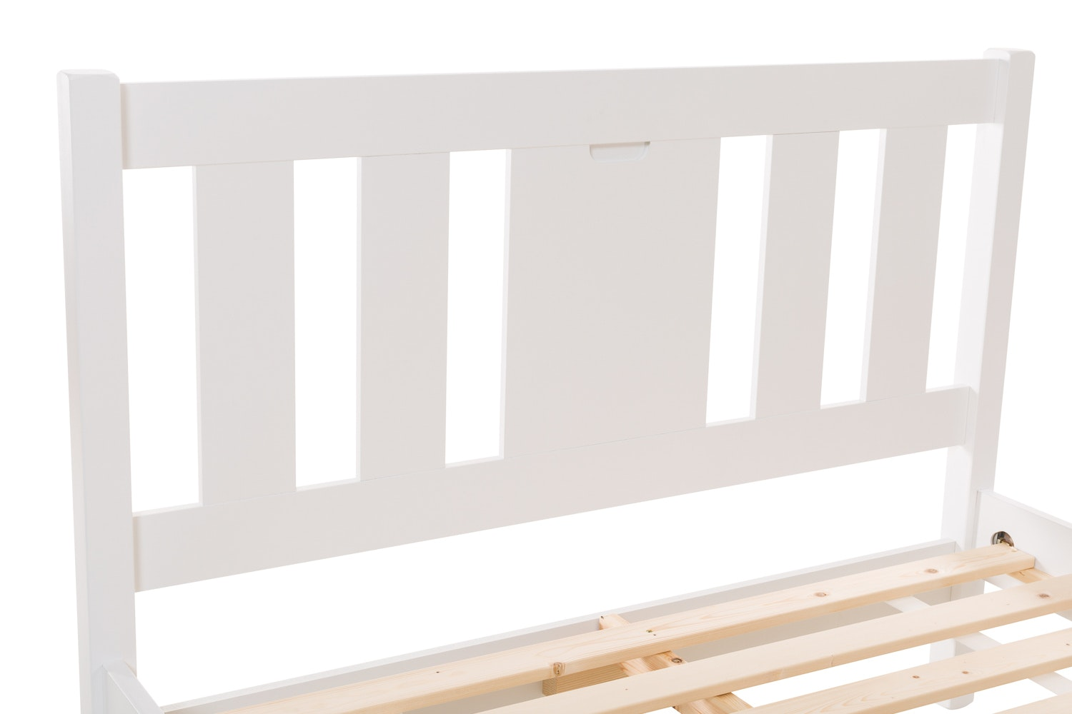 Emily Small Double Bed Frame | 4ft | White