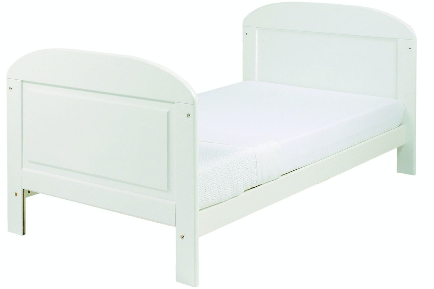 Angelina 2 in 1 Cot Bed | White