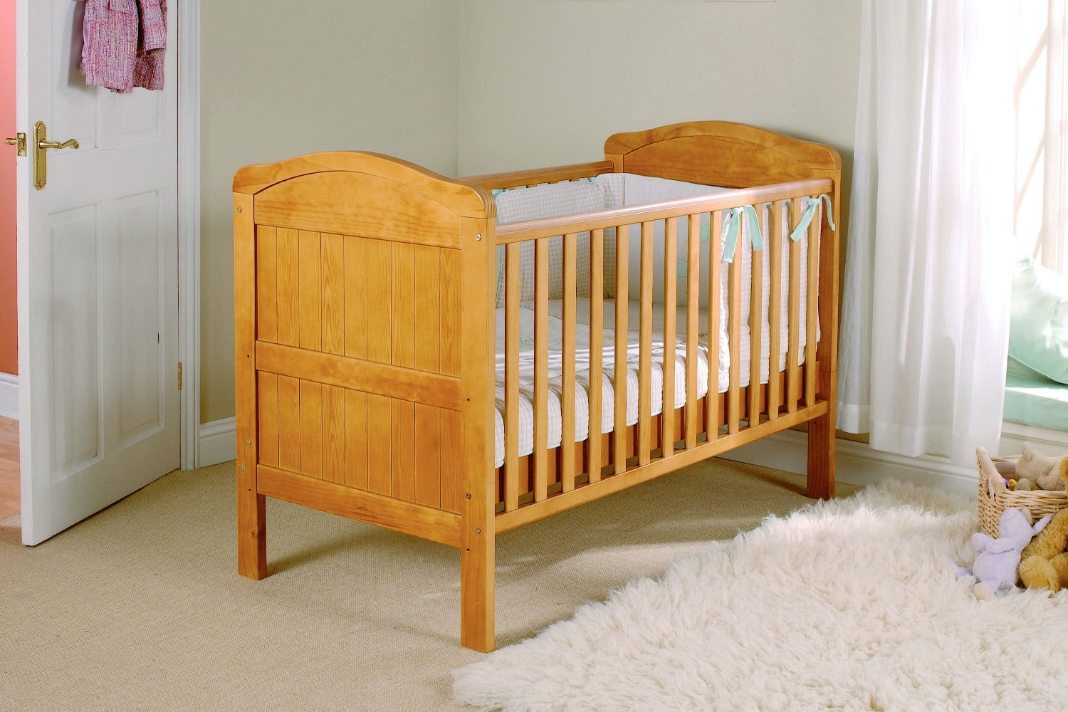 Country 2 in 1 Cot Bed | Antique Pine