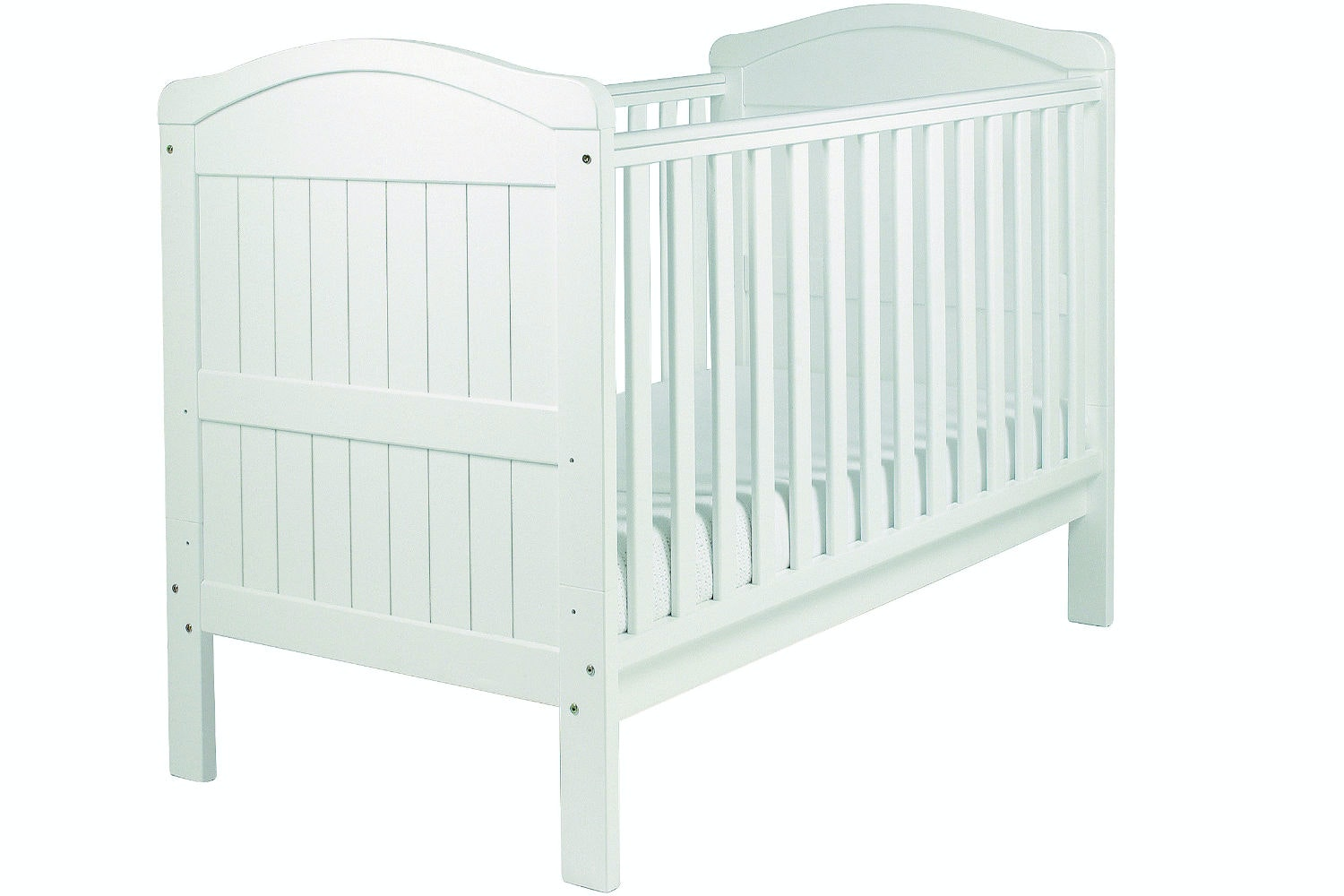 Country 2 in 1 Cot Bed | White