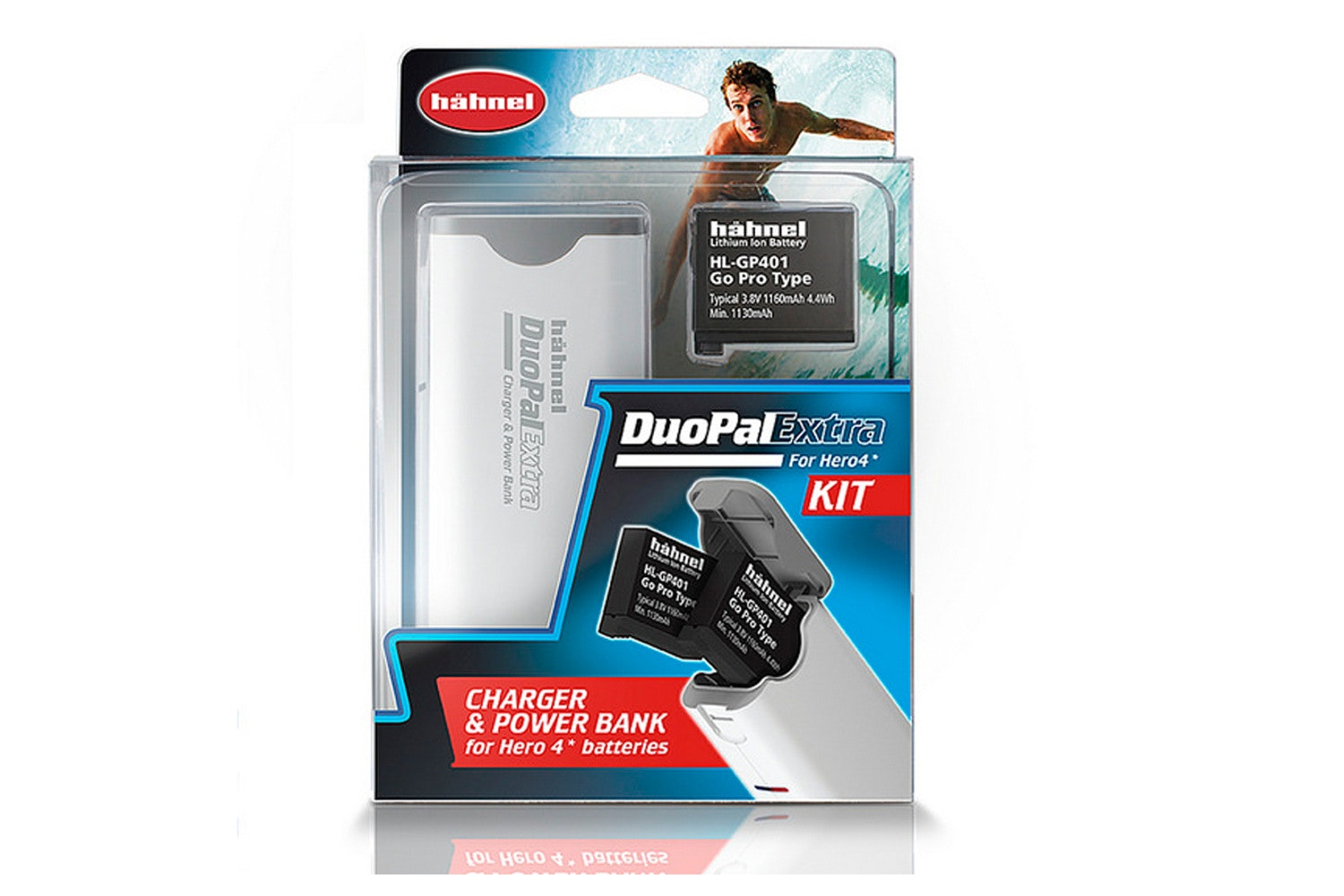 Hahnel Duopal Extra Kit with Battery