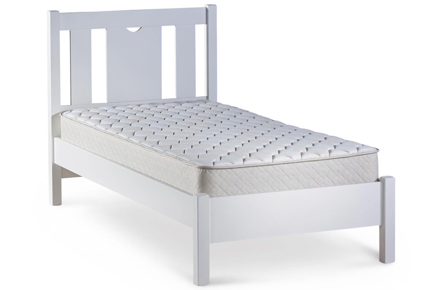 Emily Single Bed Frame | 3ft | White