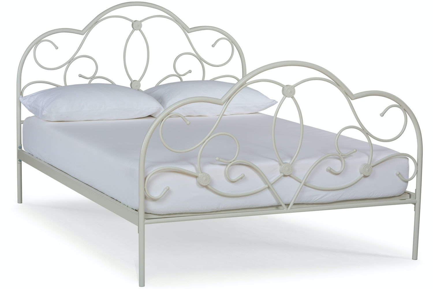 Georgina Double Bed Frame | White