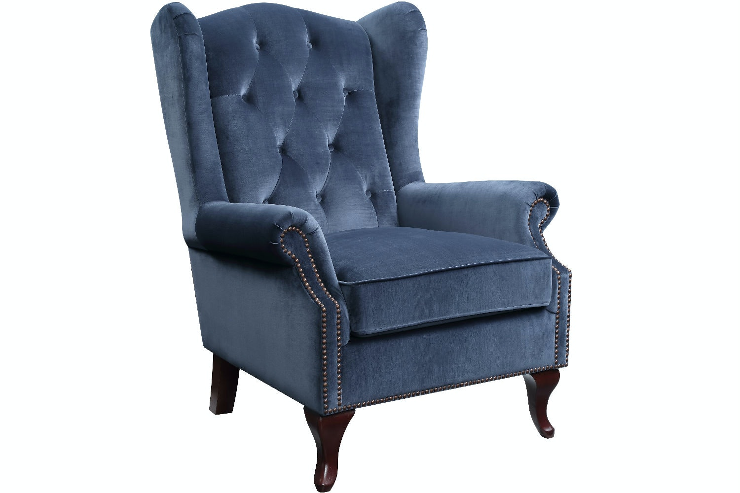 Harriot Accent Chair | Blue