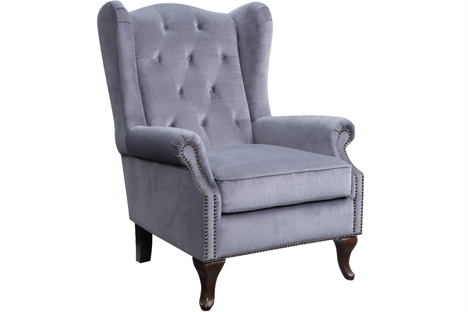 Harriot Accent Chair | Grey