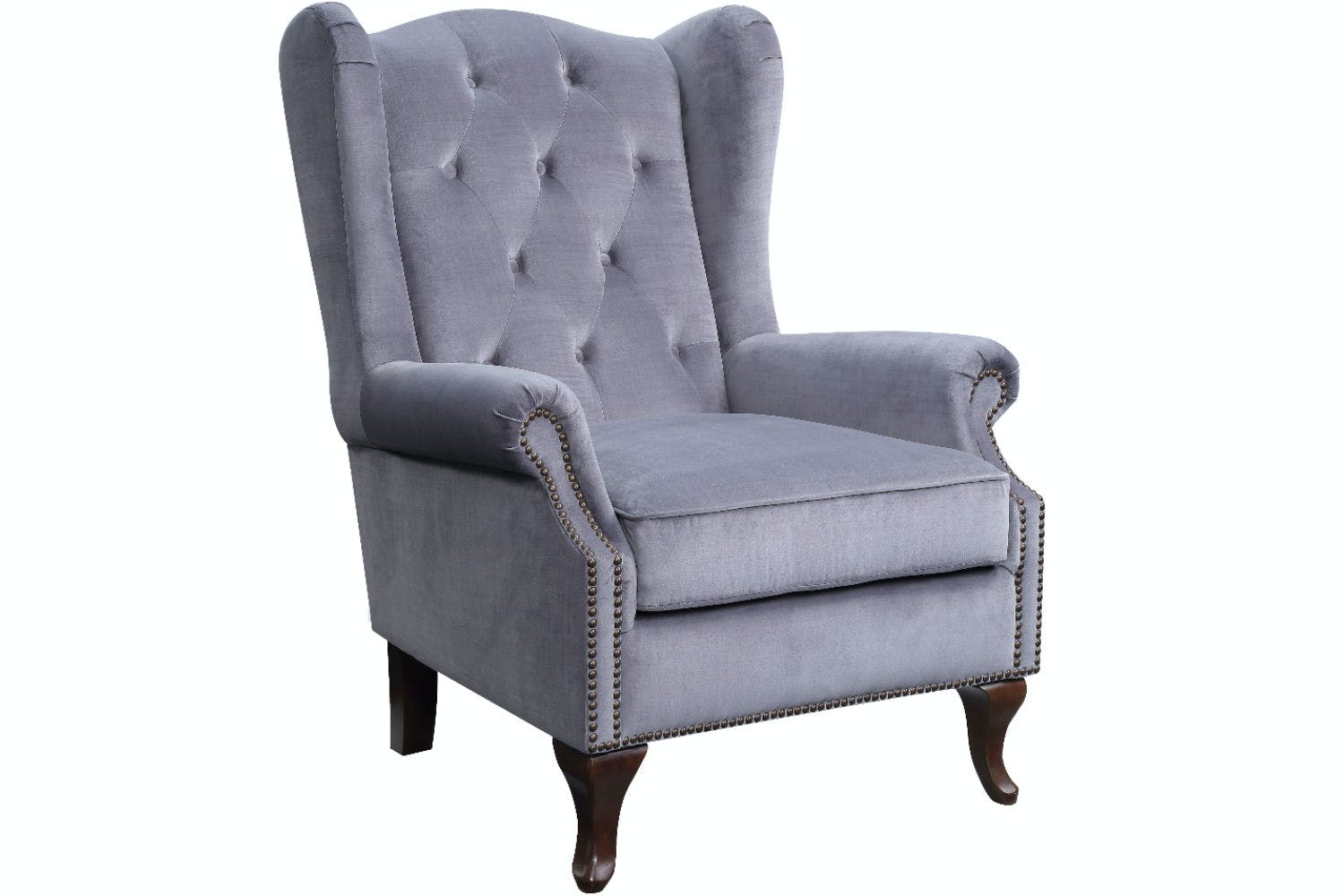 Harriot Accent Chair | Grey | Ireland