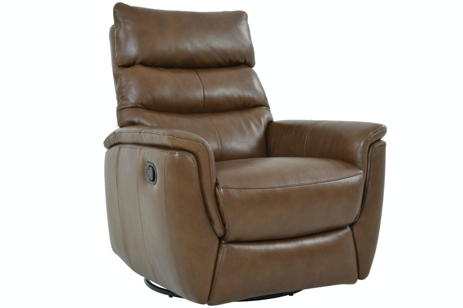 barcalounger in meade leather series recliner med