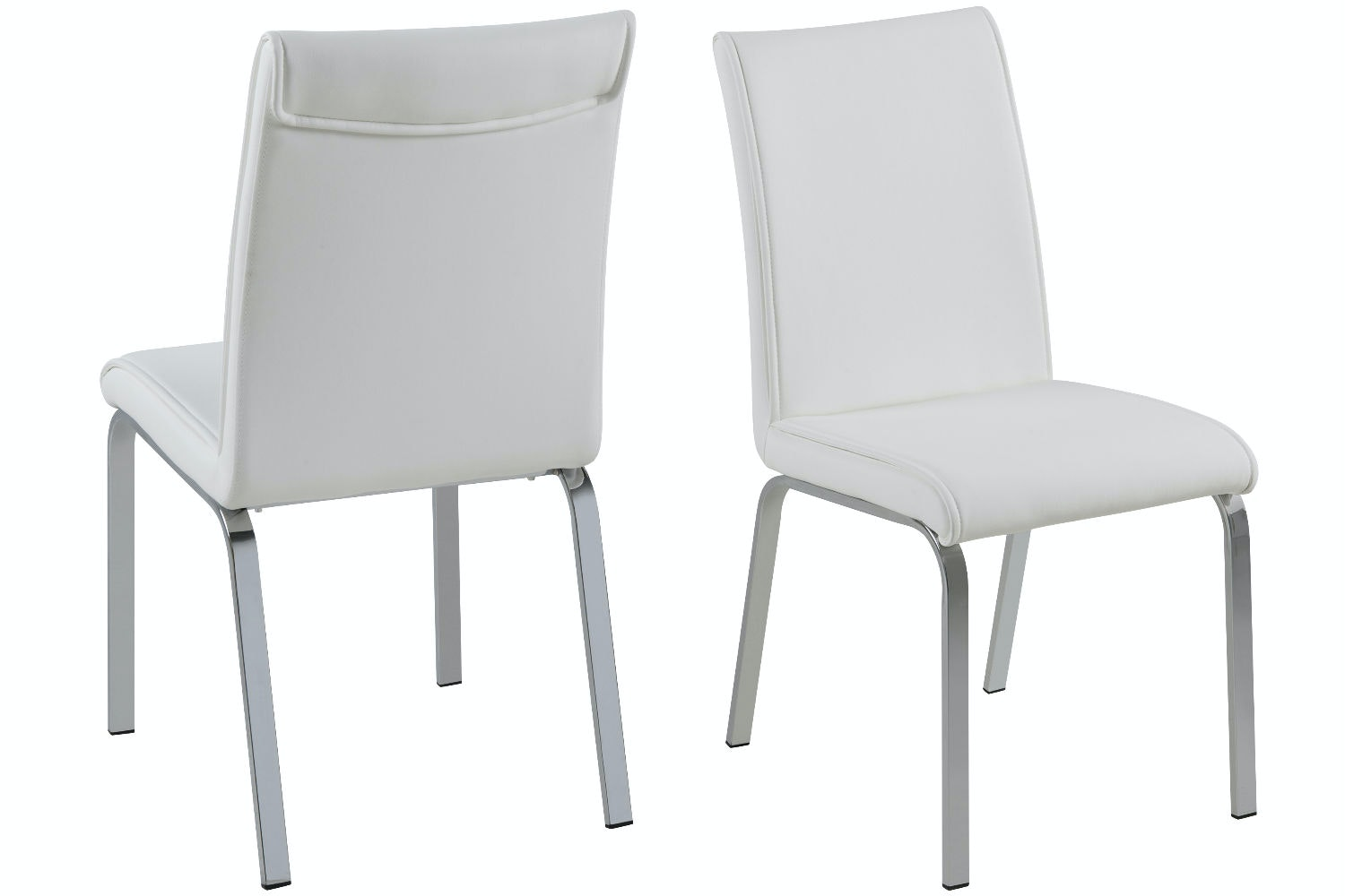 Lennox 7 Piece Dining Set | Leonora Dining Chairs White