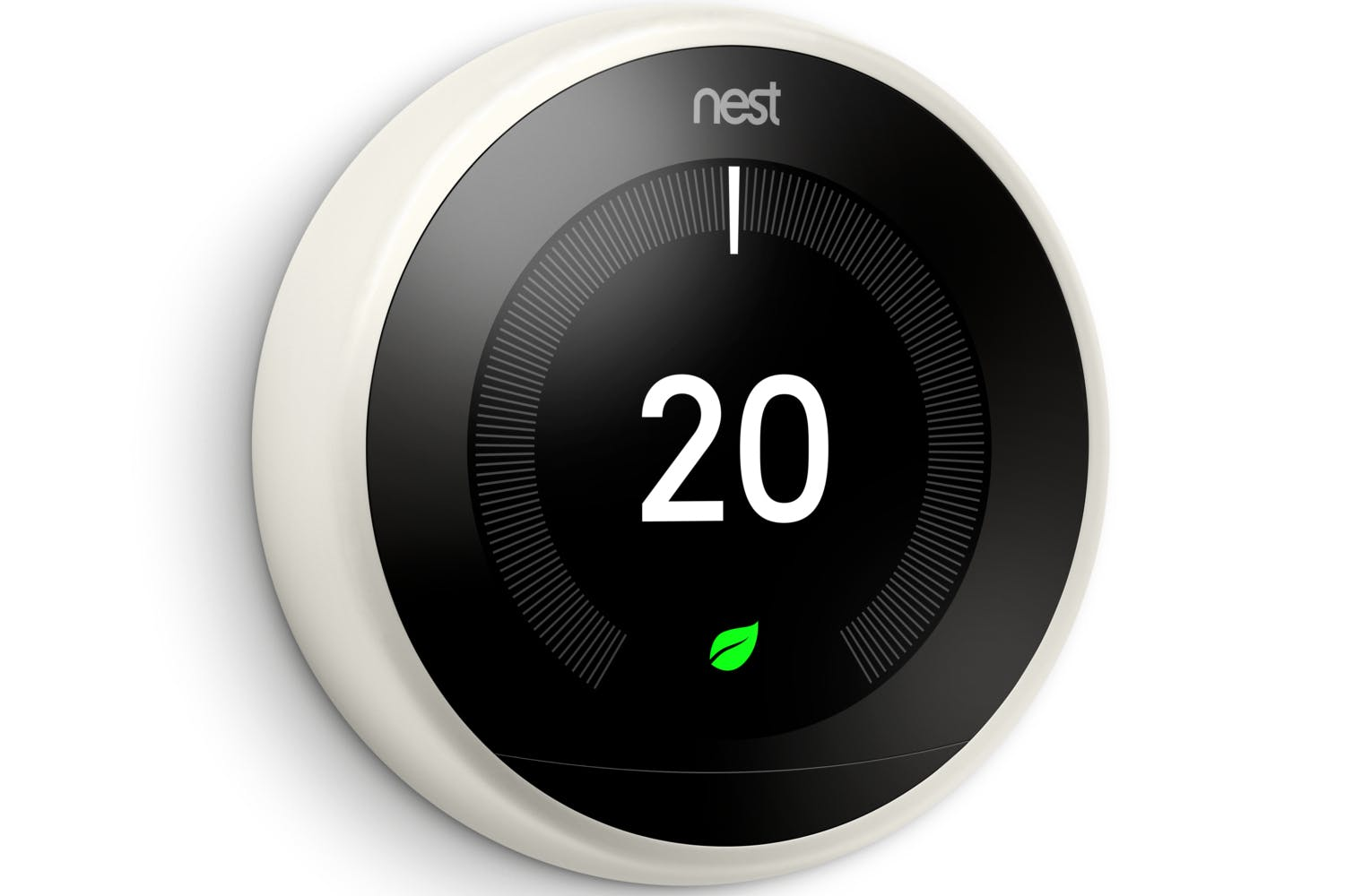 nest learning thermostat 3rd generation white ireland. Black Bedroom Furniture Sets. Home Design Ideas
