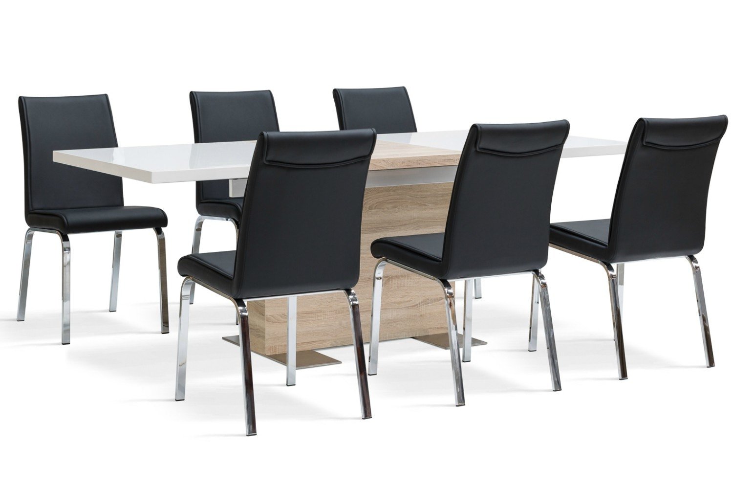 Lennox 7 Piece Dining Set | Leonora Dining Chairs