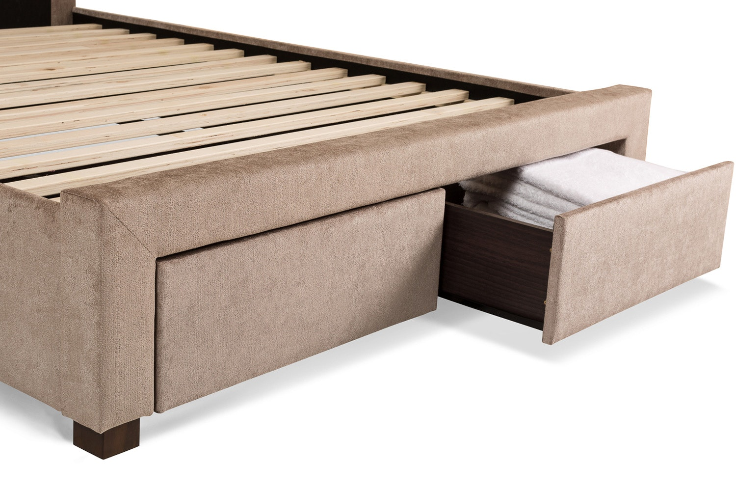 Regency Double Bed Frame with Drawers | 4ft6