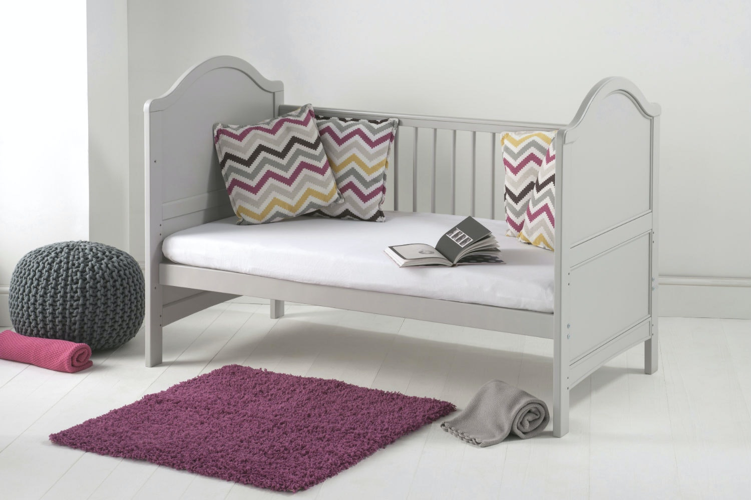 Toulouse 3 in 1 Cot Bed | French Grey