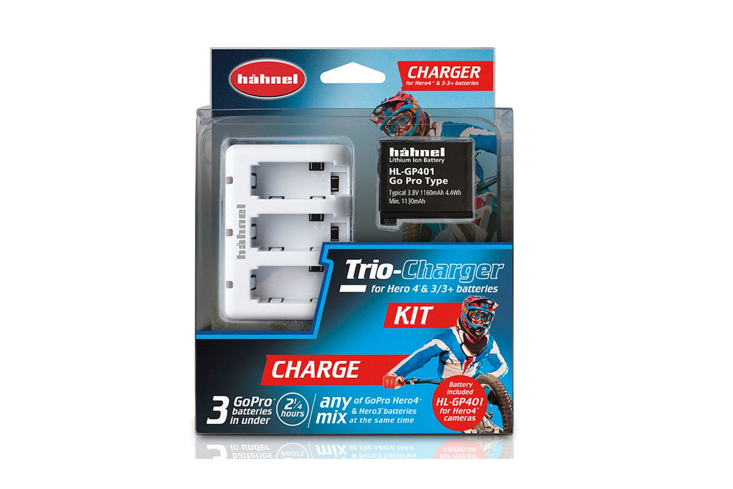 Hahnel Trio Charger Hero4