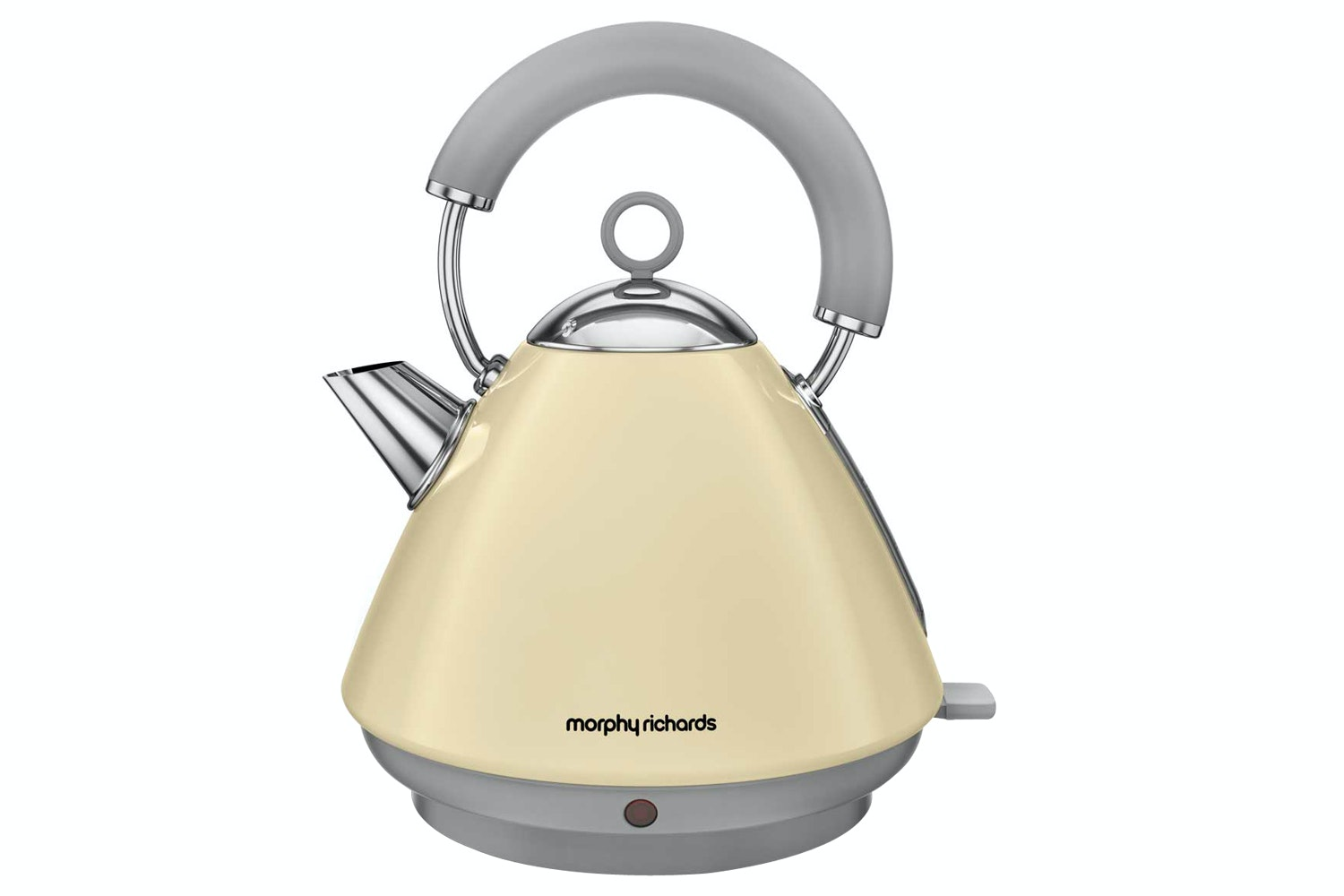 Morphy Richards Cream Accents Pyramid Kettle | 102032