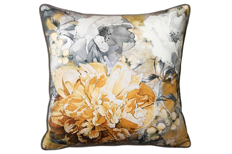 Elizaveta Ochre Cushion