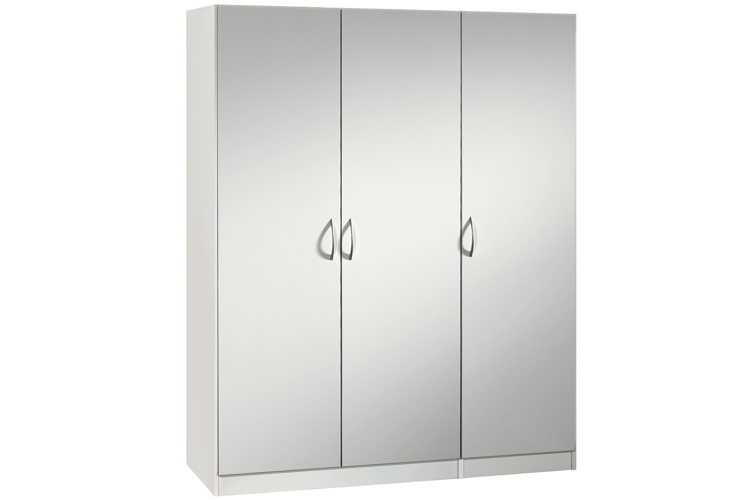 Jutzler Sonja Hinged 3 Door Wardrobe | White