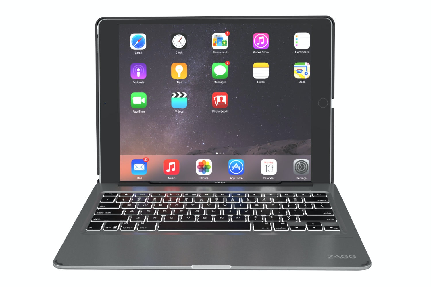 Zagg Slim Keyboard Case |iPad Pro 9.7""