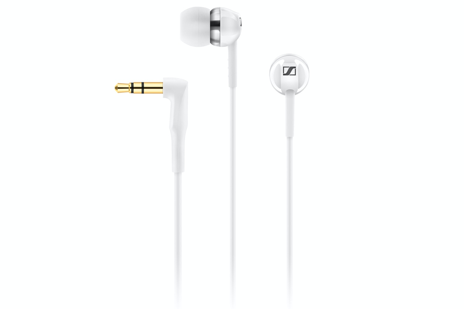 Sennheiser CX1.00 In-Ear Headphones | White