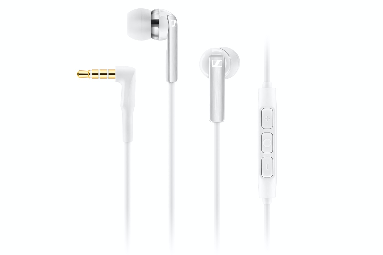 Sennheiser CX2.00 In-Ear Apple Headphones | White