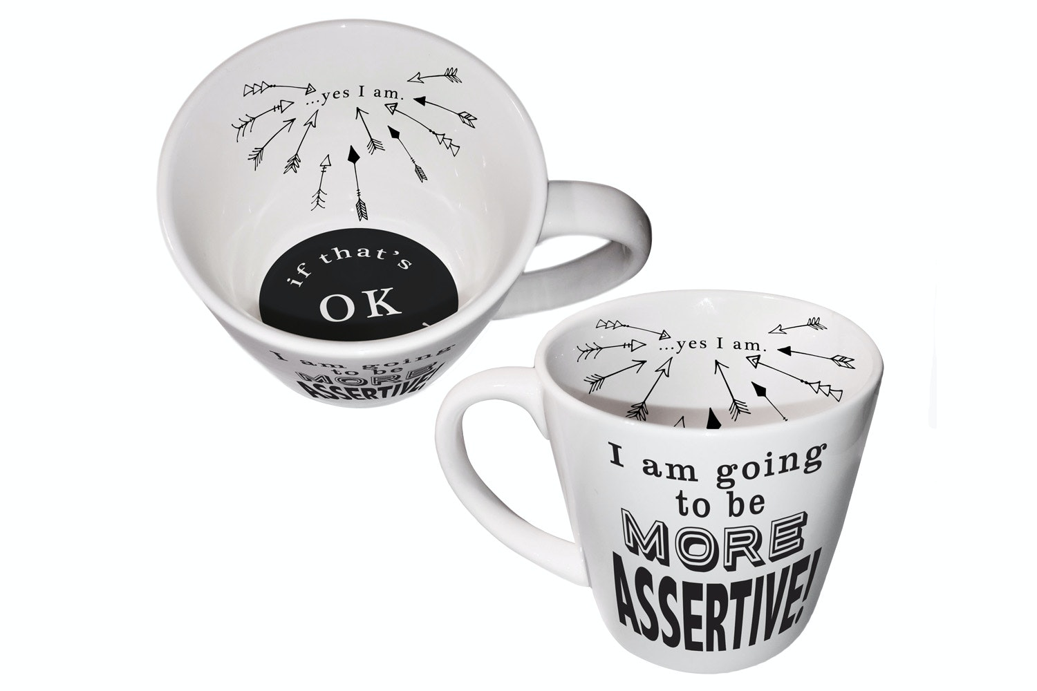 Inside Out Mug | Be More Assertive