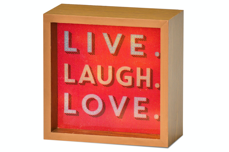 Light Box   Live Laugh Love