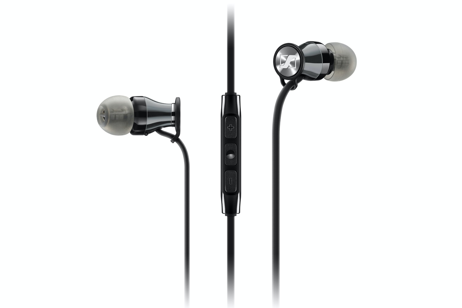 Sennheiser Momentum In Ear Apple Earphones | Chrome