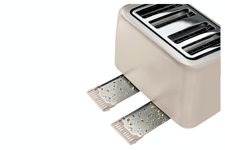 Tefal 4 Slice Toaster | TT770AUK | Cream