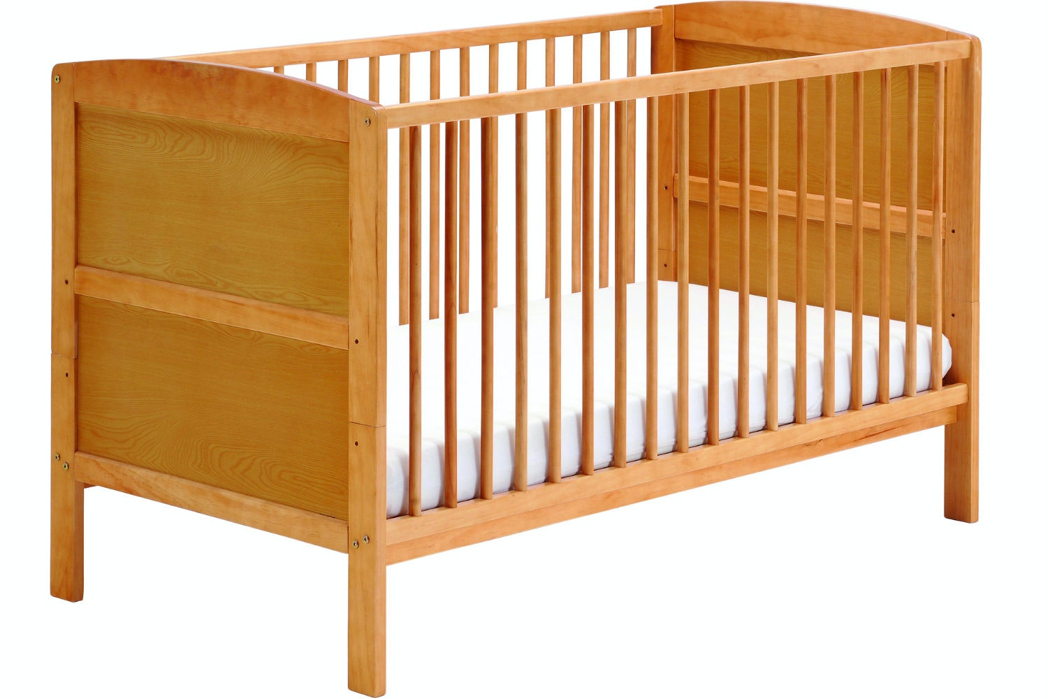 Hudson 2 in 1 Cot Bed | Antique Pine