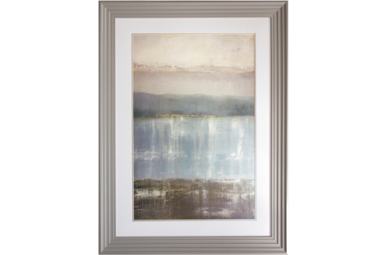 Twilight Blues Framed Print