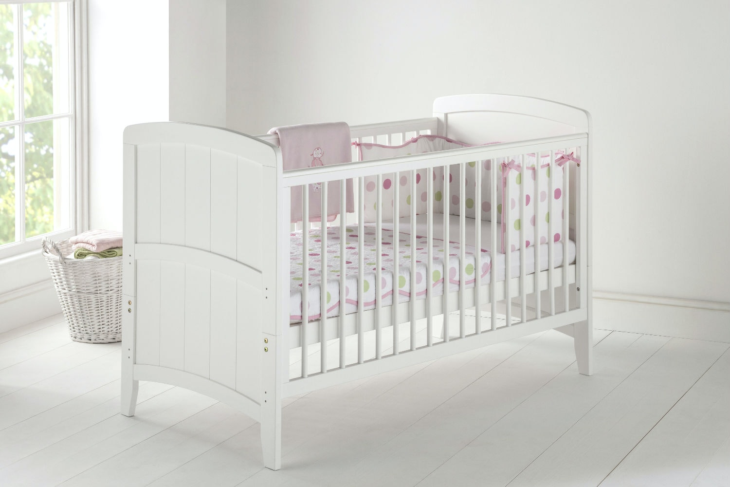Venice 2 in 1 Cot Bed | Antique Pine