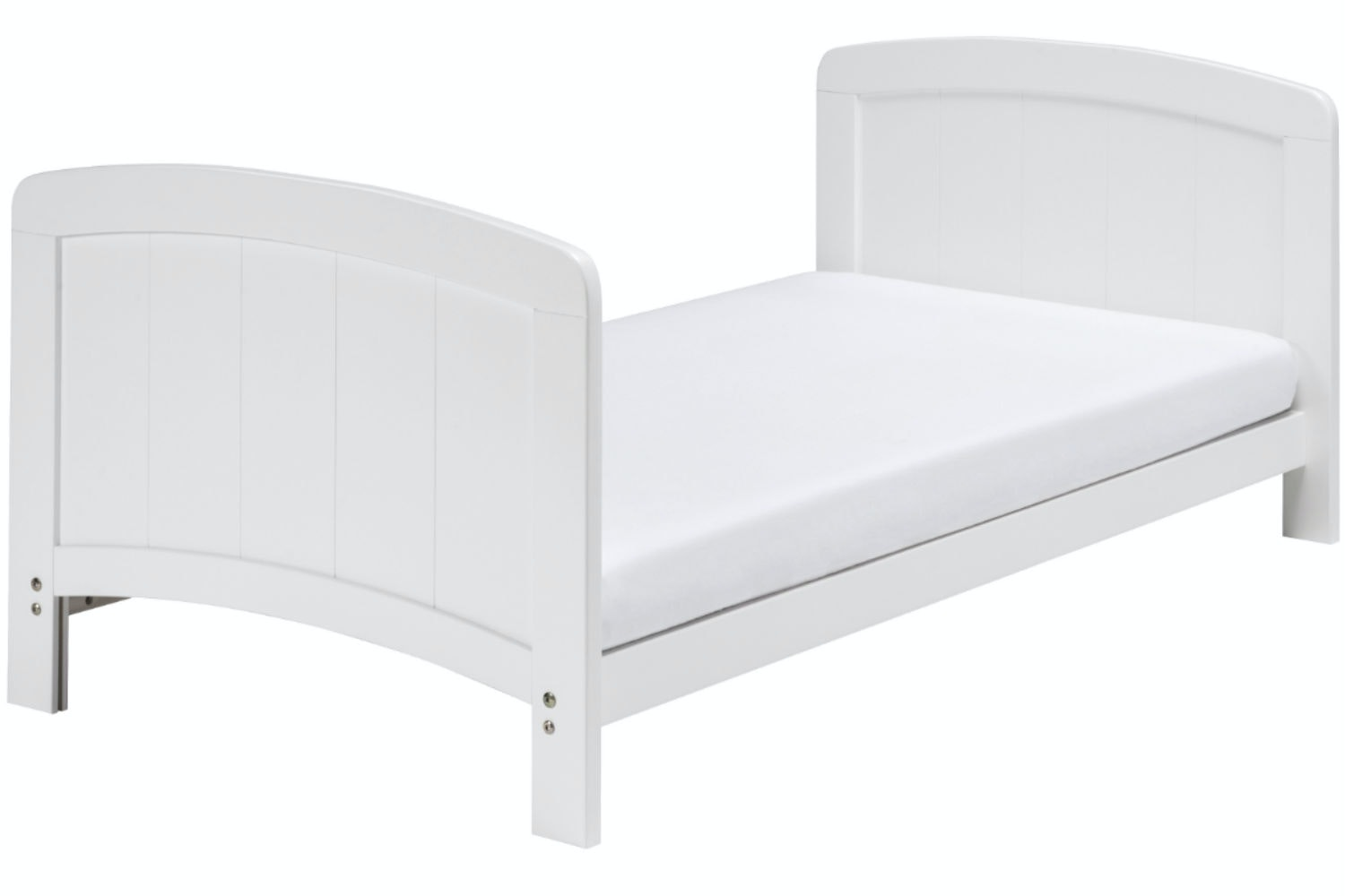 Venice 2 in 1 Cot Bed | White