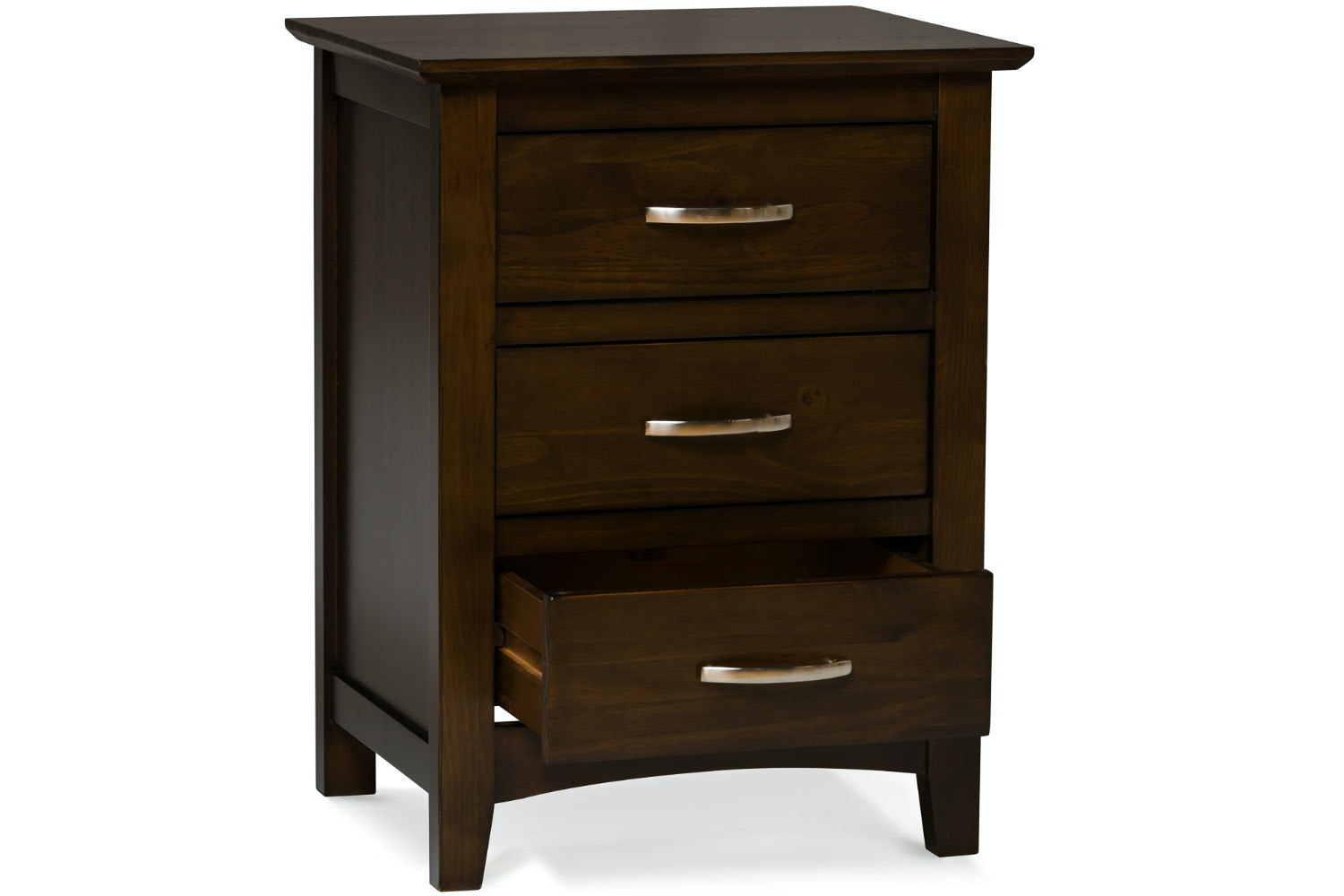 Wentworth 3 Drawer Bedside Locker
