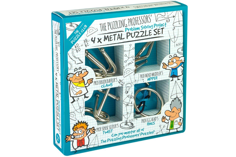 Puzz Pro 4 X Metal Puzzle