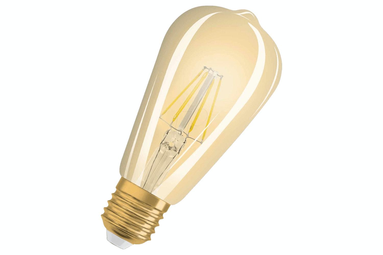 1906 Vintage LED Edison   Gold Bulb