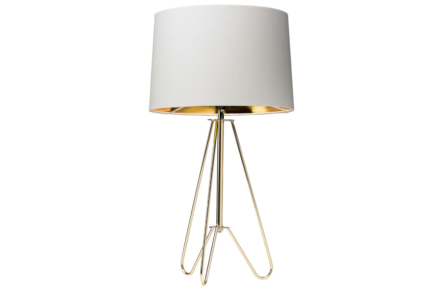 Ziggy Gold Table Lamp