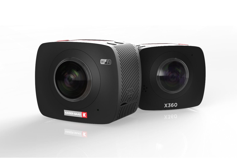 Kaiser Baas X360 Virtual Reality VR Camera + VR-X Headset Bundle