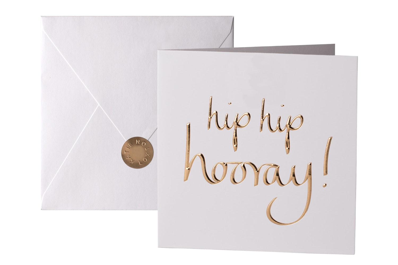 Hip Hip Hooray | Greeting Card