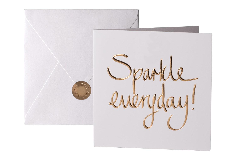 Sparkle Everyday | Greeting Card