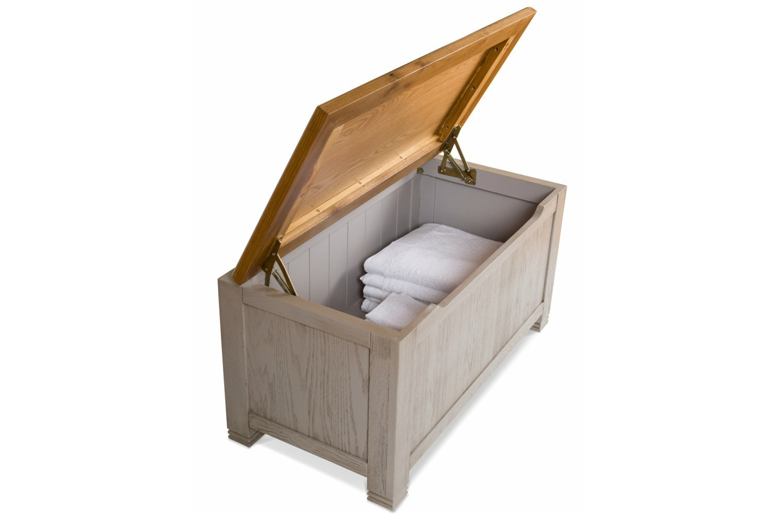 Lancaster Blanket Box | Aged Grey