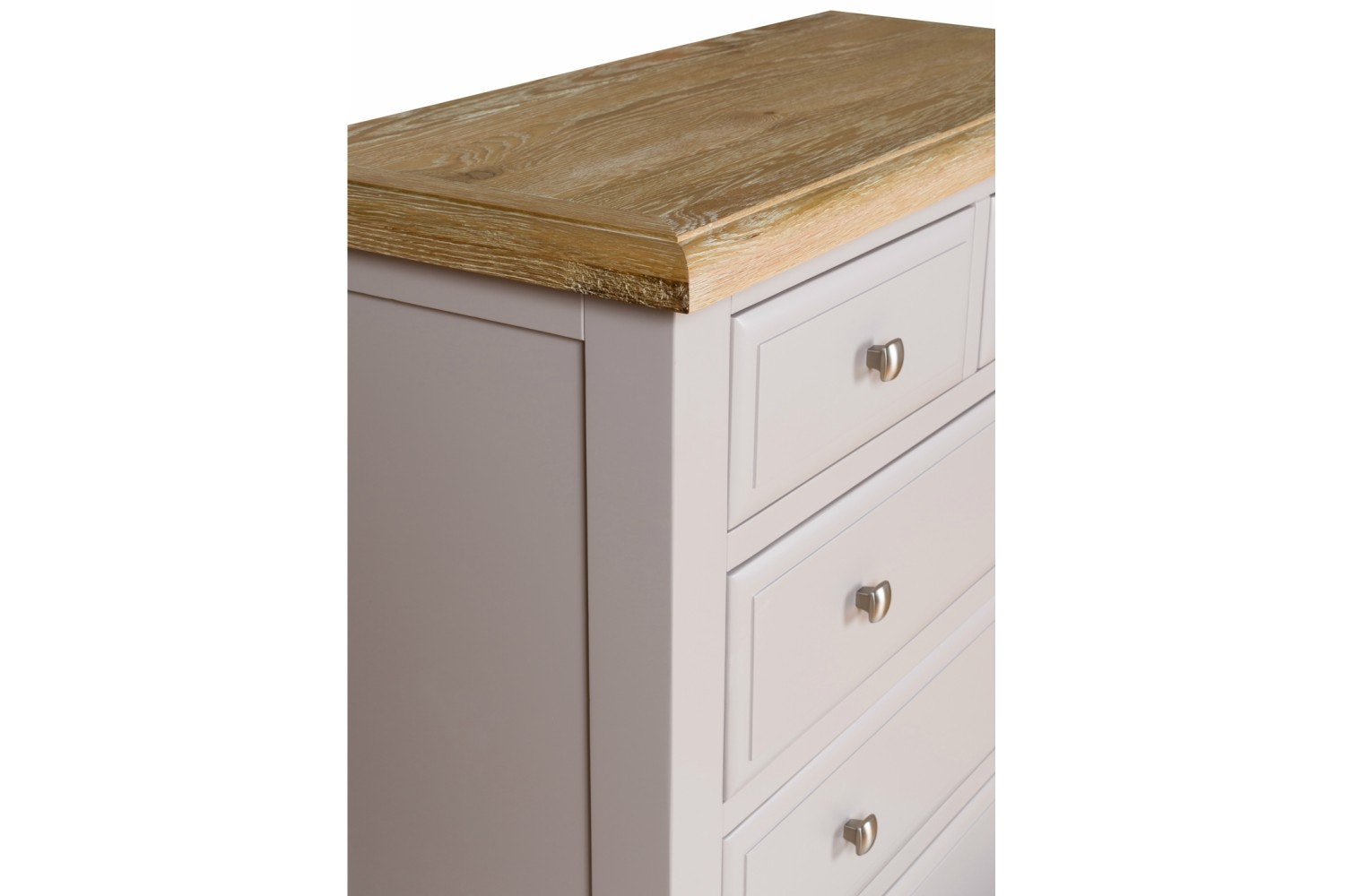 Lancaster 2+4 Drawer Chest | French Grey