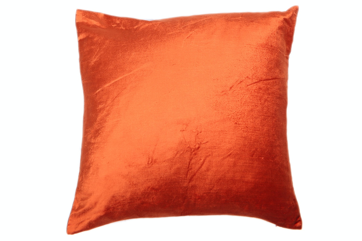 Orange Velvet Cushion